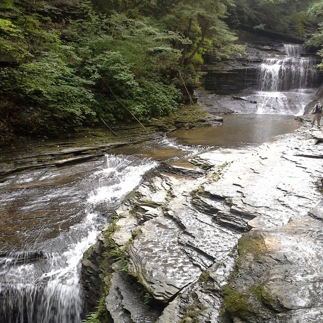 Buttermilk Falls © Sarah Hennies